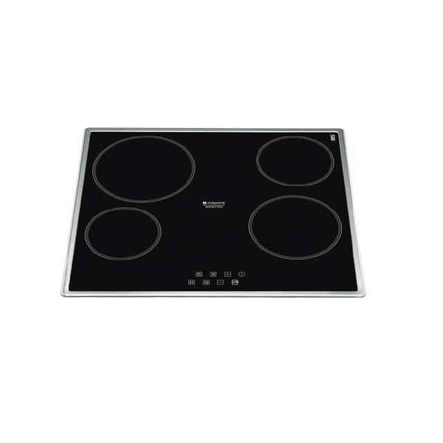hotpoint ariston table cuisson vitroc ramique k achat vente plaque vitroc ramique petit. Black Bedroom Furniture Sets. Home Design Ideas