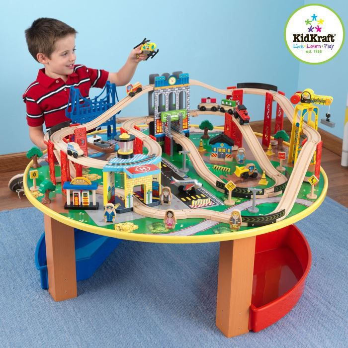 circuit cars sur table kidkraft 1