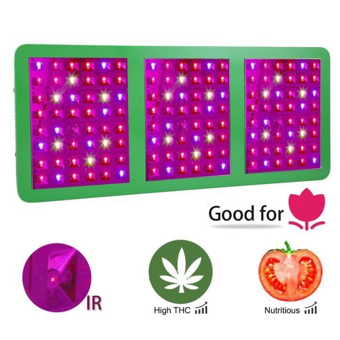 Panneaux A Led Horticole 720w Rectangulaire Lumiere Plante Achat Vente Plante Poussee Panneaux A Led Horticole 720w Cdiscount