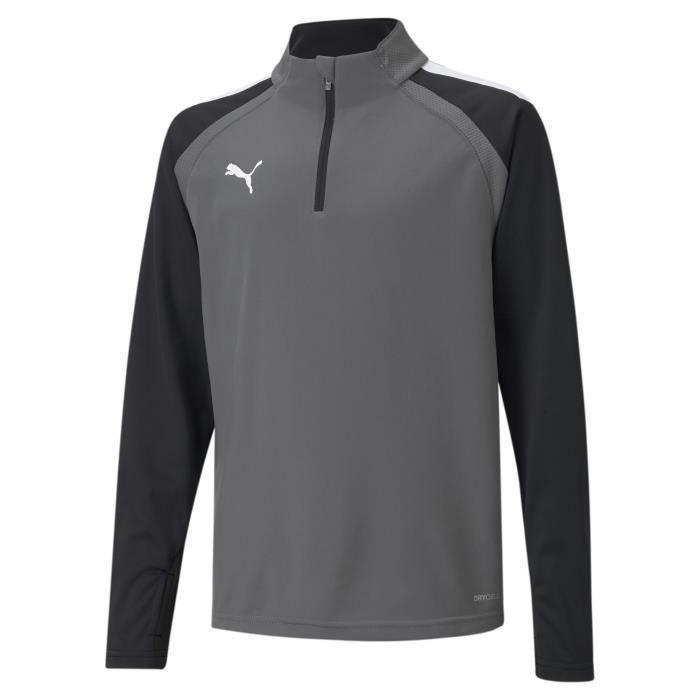 Sweatshirt enfant Puma Team Liga - gris/blanc - 12
