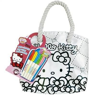 Hello kitty sac marin colorier color me mine achat vente kit de dessin color me mine sac - Colorier kitty ...