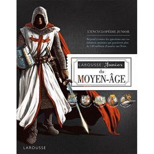 Livre 6-9 ANS Larousse junior du Moyen-Age