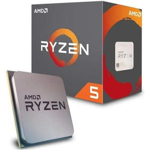 PROCESSEUR AMD YD2600BBAFBOX Processeur RYZEN5 2600 Socket AM