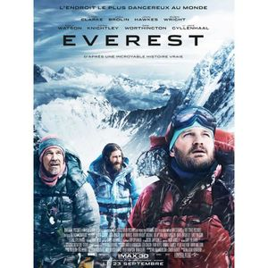 AFFICHE Everest - 2015 - Jason Clarke - Jake Gyllenhaal -