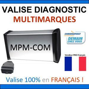 OUTIL DE DIAGNOSTIC Valise de Diagnostic PROFESSIONNELLE MPM-COM / AUT