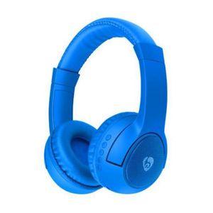 CASQUE - ÉCOUTEURS Bleu OVLENG Casque sans fil stéréo Bluetooth casqu
