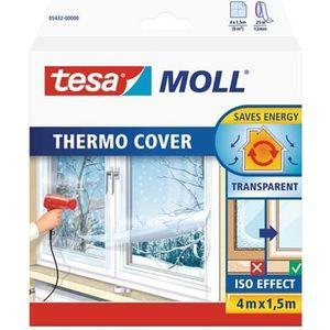 RUBAN MASQUAGE TESA Film de survitrage Thermo Cover - 4 m x 1.50