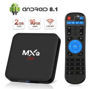 BOX MULTIMEDIA Android 8.1 TV Box 4K Boîtier TV [2019 Dernière Ve