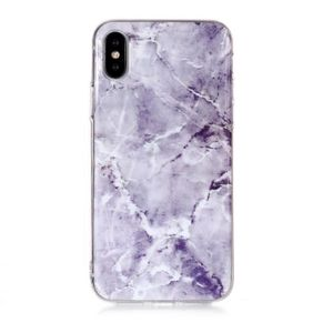 HOUSSE - ÉTUI Coque Apple iPhone XS Max Marbre Grain TPU Mince S