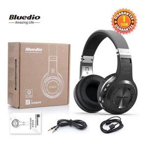 CASQUE AVEC MICROPHONE Bluedio H+ (Turbine) Casque Bluetooth stéréo sans