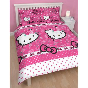 parure de lit hello kitty achat vente parure de lit. Black Bedroom Furniture Sets. Home Design Ideas