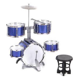 INSTRUMENT DE MUSIQUE Batterie Ensemble de tambour Compact Jouet Instrum