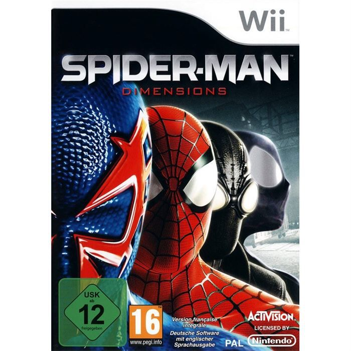 JEUX WII SPIDERMAN DIMENSIONS / Jeu console Wii
