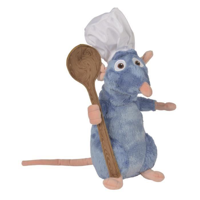 RATATOUILLE Peluche Remy Chef de Cuisine avec Cuillère 25 cm - Disney