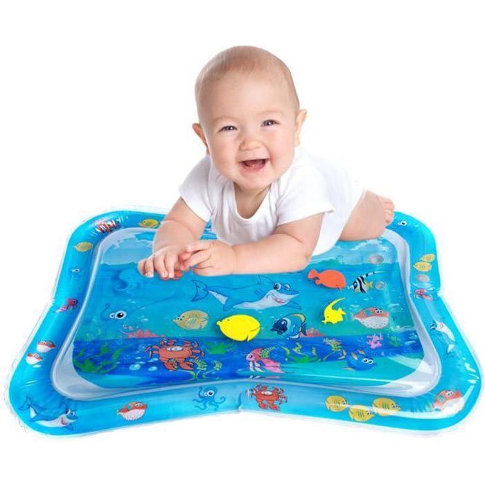 JCU® Tapis d'eau Mat bébé gonflable jouet enfant éducatif océan requin