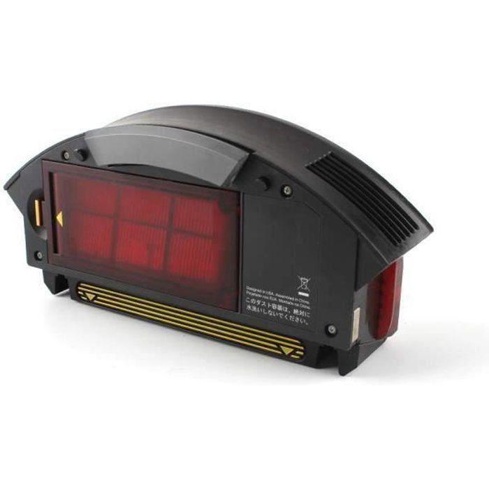 Filtre Boîte à Poussière Collecteur de Boîte à Filtre pour Irobot Roomba 800 Séries 870 880 960 LIJFK18018