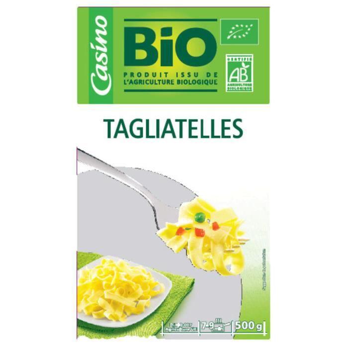 Tagliatelles bio - 500g