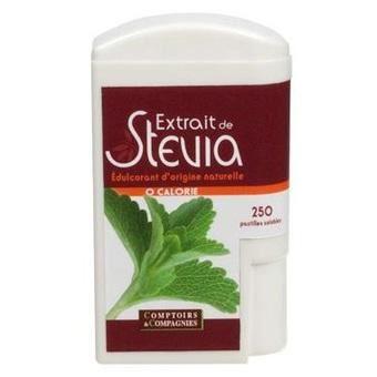 Extrait de stévia BIO 250 pastilles - 250 pasti…