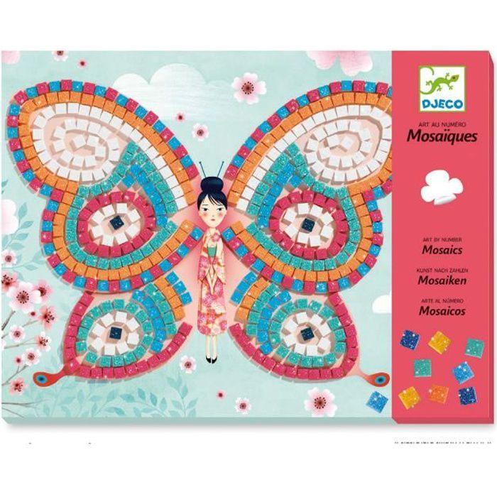 Mosaïques : Papillons aille Unique Coloris Unique