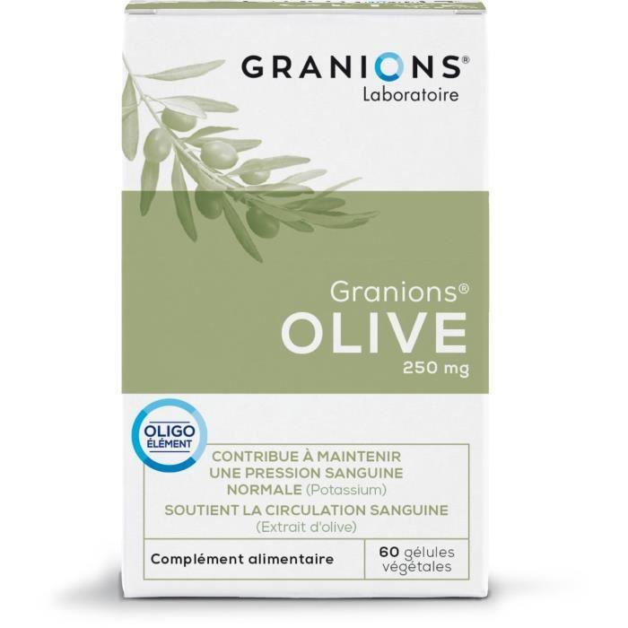 GRANIONS® OLIVE 60 GÉLULES