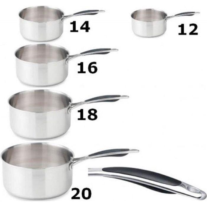 5 casseroles 12/14/16/18/20 cm induction, Espace cuisine