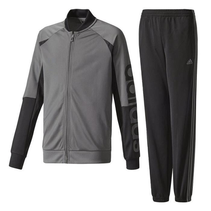 Yb Linear Garçon Survêtement Gris Adidas