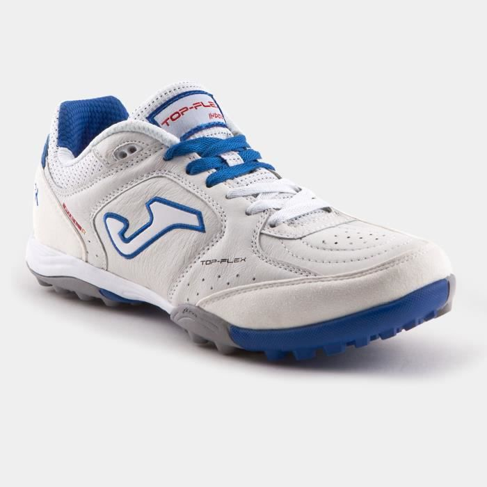 Chaussures de football Joma Top Flex Turf 602 - blanc/bleu royal - 45