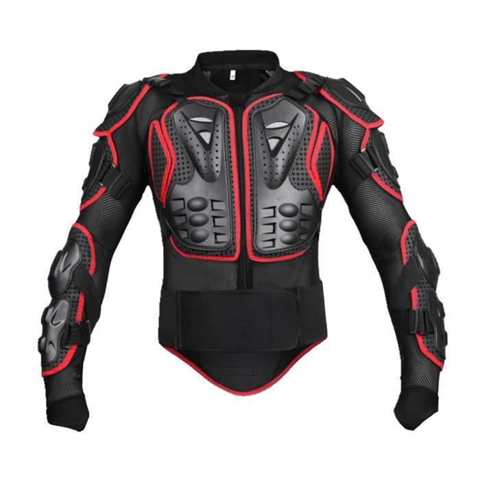 Sportif Armure Complète du Corps Veste de Moto Blouson de Motard Gilet Protection de Colonne Poitrine Épaule