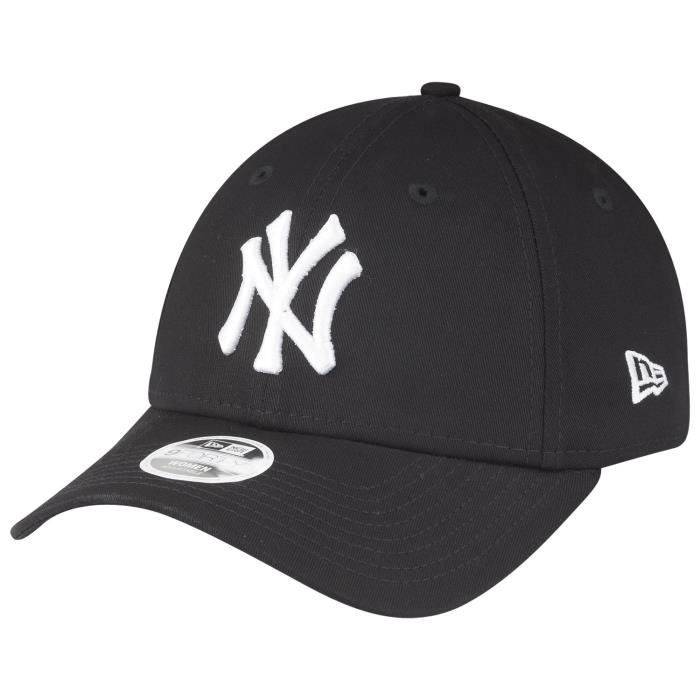 New Era 9Forty Femme Cap - New York Yankees noir / blanc