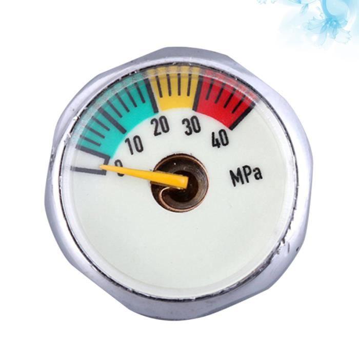 1 pc baromètre affichage lumineux haute pression manomètre pour extincteur réservoir d'oxygène MONTRE CONNECTEE SPORT