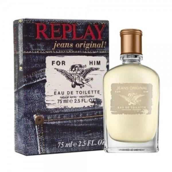 REPLAY Jeans Original For him Eau de toilette Vapo - 75 ml