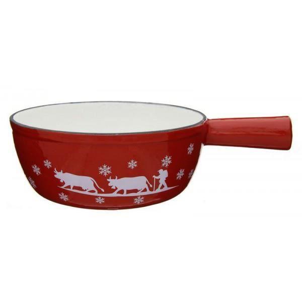 TABLE&COOK Poêlon 18 cm Alpage rouge