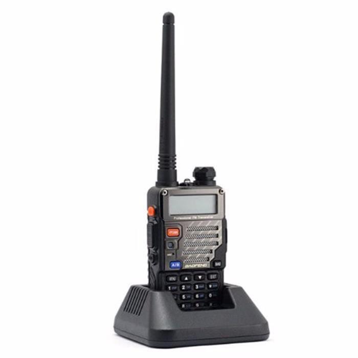 BAOFENG UV-5R Talkie Walkie Interphone Bi-bande Radio PRISE US 100-240V