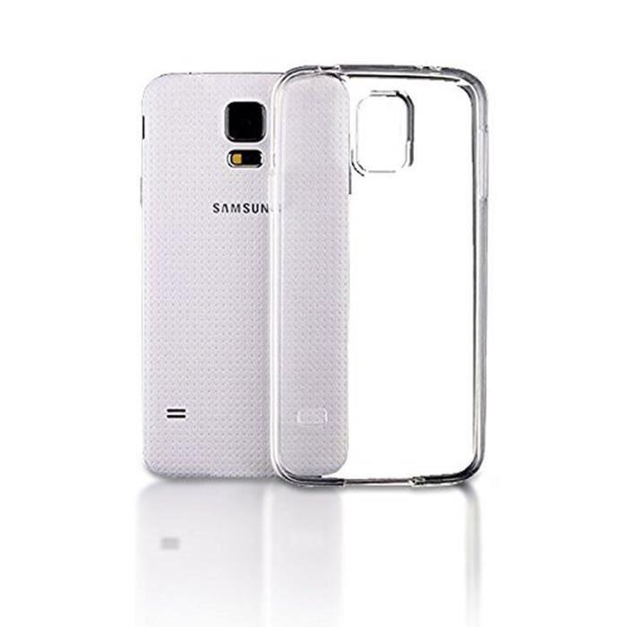 TNB Coque pour Samsung Galaxy S7 Edge - Transparent