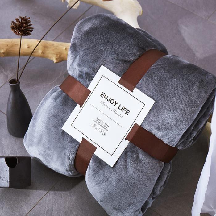 Type 1-150x200cm -couverture Sherpa épaisse en flanelle,couverture chaude pour l'hiver,couvre lit de lit de couleur violette