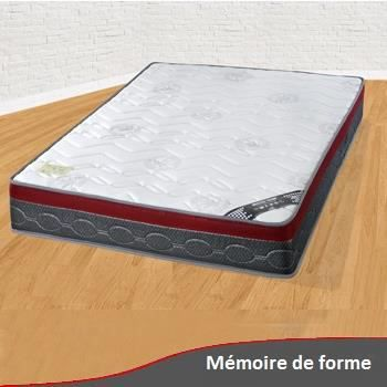 matelas m moire de forme 140 x 200 achat vente matelas cdiscount. Black Bedroom Furniture Sets. Home Design Ideas