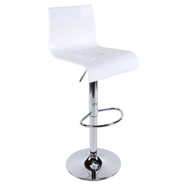tabouret de bar design en plastique polym re de achat vente taboure. Black Bedroom Furniture Sets. Home Design Ideas