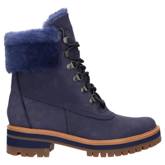 botte timberland bleue