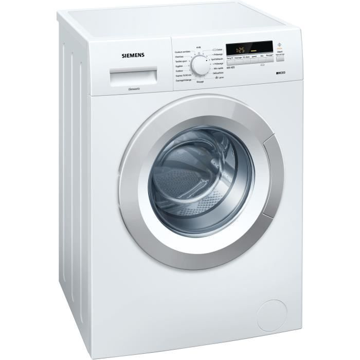 siemens ws12g262ff lave linge frontal 5 kg 1200 trs min a. Black Bedroom Furniture Sets. Home Design Ideas