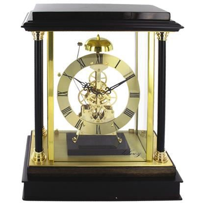 pendule horloge a poser sonne 1 coup l 39 heure achat vente horloge bois m tal cdiscount. Black Bedroom Furniture Sets. Home Design Ideas