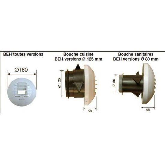 Bouche D80 Hygro Wc A Pile Detecteur Presence Achat Vente