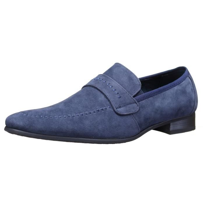 Chaussure Reservoir Shoes Anibal Mocassin Marine