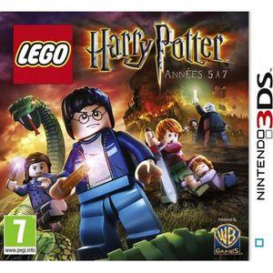 JEU 3DS LEGO Harry Potter Années 5 À 7 Jeu 3DS
