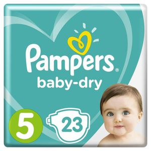 COUCHE Couches baby dry T5 x 23 Pampers