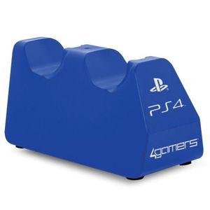 CHARGEUR CONSOLE Station de chargement double pour PS4 - Bleu