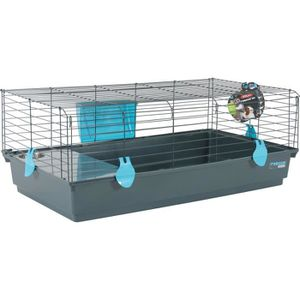 CLAPIER Lapin Guinée Pig Cage 104 X 64 X 39 cm 3BE4LM
