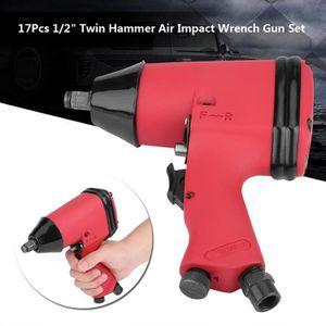 CLE A CHOC Kit de pistolet à clé Clé à chocs à impact pneumat