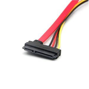 CÂBLE D'ALIMENTATION 7 + 15 Câble adaptateur secteur pour disque dur Se