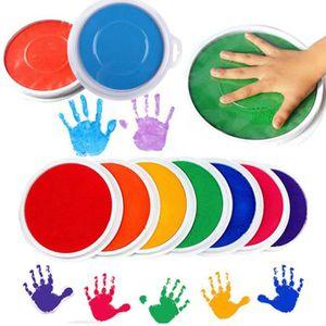 LIVRE ARTISANAT Couleurs de bricolage Pad d'encre Peinture doigt t
