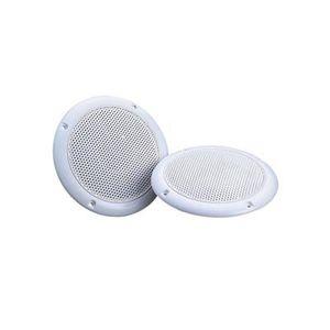 HAUT-PARLEUR - MICRO Haut-Parleurs Blancs Résistant à l'Humidité 12.7cm
